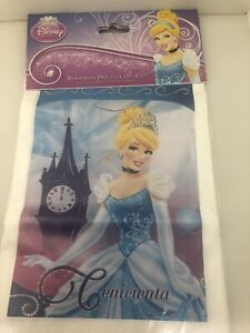 Disney Cinderella Party Favor Bags Loot Treat Party Supply 25CT