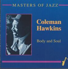 Coleman Hawkins Body and Soul Masters of Jazz (honesuckle Rose) CD Midget
