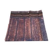 Shower Curtain Hooks Polyester Barn Door Farmhouse Bathroom Decor W