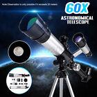 60X Refracting Astronomical Telescope 90  Celestial Monocular Teleskop W/ Tripod