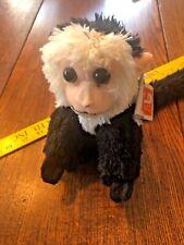 "Wild Republic CK Mini Capuchin Monkey Plush Stuffed Animal Toy 8"""