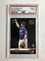PETE ALONSO 2019 Topps NOW Moment of Year SP RC #MOY4! PSA MINT 9! INVEST! METS!