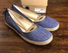 UGG INDAH BOW 1003493 NIGHT SIZE 11 NEW WOMAN'S FLATS 100% AUTHENTIC*FAST SHIP*
