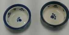 New listing Boots And Barkley 6 Inch Ceramic Dog Bowls Set of 2