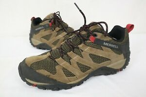Men's Merrell Hiking Shoes Alverstone J034543 Boulder  Men's Size 11.5