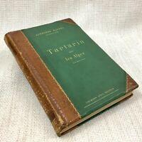 1885 Antico Francese Libro Alphonse Daudet - Tartarin On The Alps Primo ed. Rara