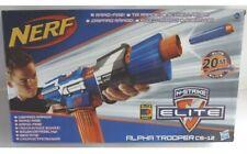 NERF N-STRIKE ELITE BLASTER, ALPHA TROOPER CS-12, 12 Elite Darts. BOXED.