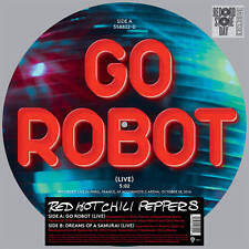 """Red Hot Chili Peppers GO ROBOT Rhcp RSD 2017 New 12"""" Vinyl Picture Disc Single"""