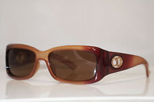 DIOR Vintage Womens Designer Sunglasses Brown Rectangle FLAVOUR 2 RPJ7U 13550