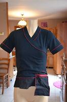 COP COPINE - Joli haut noir modèle bruni- Taille 2- EXCELLENT  ÉTAT