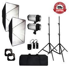 2 SET x Studio Strobe Flash Monolight Photography Softbox Diffuser Lighting Kit
