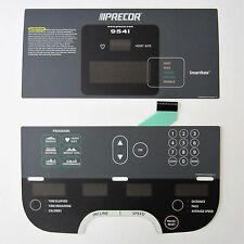 Precor 954i Treadmill Display Overlay Keypad