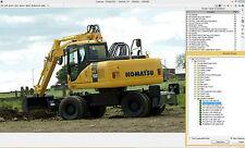 KOMATSU EPC LINKONE CONSTRUCTION EQUIPMENT 2016 SPARE PARTS CATALOGUE
