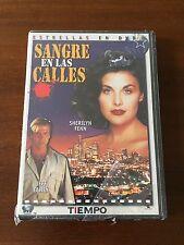 SANGRE EN LAS CALLES - TIEMPO - ESTRELLAS EN DVD - NEW SEALED NUEVO EMBALADO