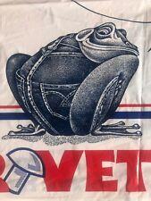 Vintage LEVI'S department Store Plastic Bag RIVET FROG! AMAZING drawstring