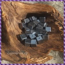 25 Perle Ematite cubo 6x6mm