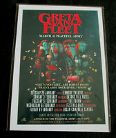 GRETA VAN FLEET : MARCH OF THE PEACEFUL ARMY TOUR : A4 GLOSSY REPO POSTER