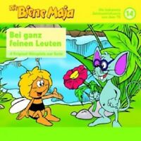 DIE BIENE MAJA - FOLGE 14-BEI GANZ FEINEN LEUTEN;CD 9 TRACKS KINDERHÖRSPIEL NEU
