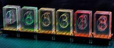 LED-Nixie-L, 6-stelliger Bausatz  LED-Uhr Nixie Design 520 x 135mm