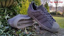 Adidas Originals Boys / Mens Superstar Fashion Trainers Grey BNIBWT Size UK 4-12
