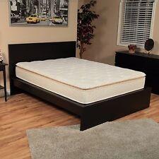 RV Foam Mattress Short Queen Size Quilted Pillow Top Motorhome Box Bed Trailer
