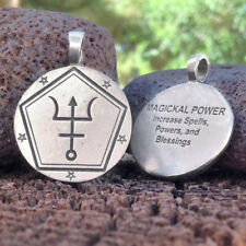 NEW Magickal Power Spell Coin Pendant by Christopher Penczak Deva Designs Pewter