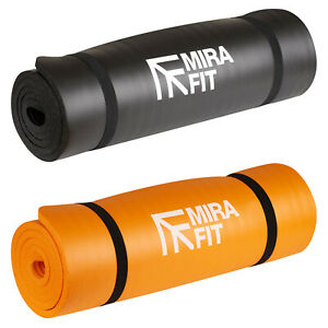 Mirafit 15mm Thick Exercise Gym Mat Workout For Situp Ab Yoga/Pilate FAULTY LOGO