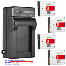 Kastar Battery Wall Charger for Sony NP-BG1 NP-FG1 Sony Cyber-shot DSC-H3 Camera
