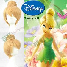 Disney Princess Wonder Fairy / Tinker Bell Blonde Bun Modeling Cosplay Wig