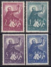 1952 Portugal - Yvert 770/773 - MH - Fco Javier -Valor 35,00 €