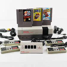 Nintendo Nes Konsole Pal B►4X Controller►SUPER MARIO BROS. 1-2-3✨Four Score►11