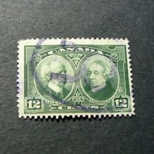 Canada Stamp Scott# 147 Laurier and Macdonald 1927  L321