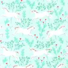 Unicorn Forest Jersey from Michael Miller Dressmaking craft - MINT