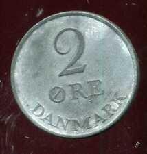 DANEMARK   2 ore 1952    ZINC