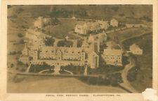 Elizabethtown, Pennyslvania Masonic Homes Aerial View Old Sepia Photo Postcard