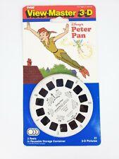 VTG Disney's Peter Pan 3-D Viewmaster Reels Pack Sealed NOS
