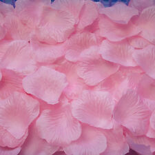 1000 PCS Fabric Silk Flower Rose Petals Wedding Party Decoration Table ED