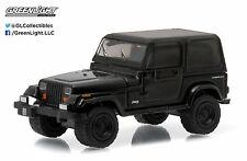 1:64 GreenLight *BLACK BANDIT R14* 1994 Jeep Wrangler 4x4 *NIP*