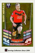 2012-13 Match Attax Legend Foil Card #466 Gary Neville (Man Utd)