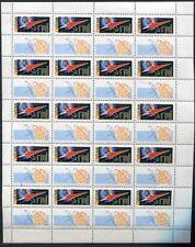 RUSSIA YR 1962,SC 2578,MI 2587,2 FULL SHEETS,MNH ,VOSTOK-1,YURI GAGARIN FLIGHT