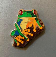 Tadpole - Red-Eyed Tree Frog Geocoin - Shiny Nickel