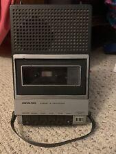 Soundesign Model #7630 Cassette Recorder Tested/Working! Vintage Rare Battery Op