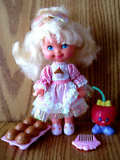 CHERRY MERRY MUFFIN  DOLL SERIES 1 1988 MATTEL COMPLETE & CLOSE TO MINT COND.