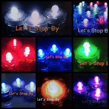60 LED Submersible Wedding Floral Decoration Tea light