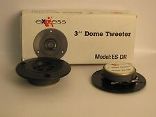 """Exxess  OLD SCHOOL  3"""" Soft Dome Tweeter with Built in Crossover 4 ohm  4 OZ"""