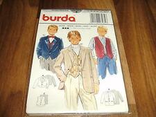 BURDA-BUBEN Schnittmuster 3284                2x  JACKE+WESTE            122-152