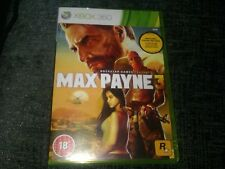 Xbox Max Payne 3 New and Sealed.