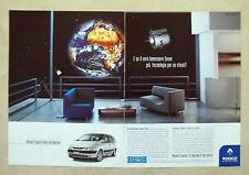 B195-Advertising Pubblicità-1999 - RENAULT ESPACE ETOILE CON ODYSLINE