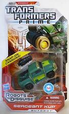 SERGEANT KUP Transformers Prime Animated Deluxe Class Figure #13 Series 1 2012