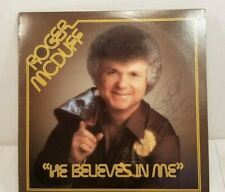 ROGER McDUFF He Believes In Me Record Lp Signed Autographed Rca Victor